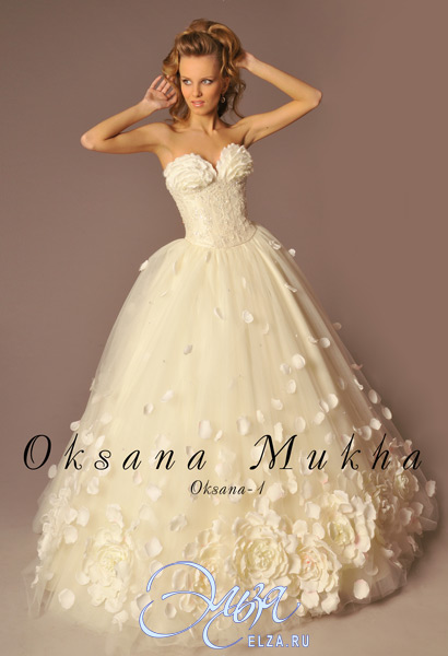 7f42882e2b65618 Купить Платье Оксаны Марченко. свадебные платья 2011 оксана муха ...