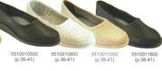 Туфли женские рабочие,  Туфли сабо (кожа) от 110 грн