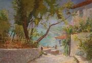 картина Анатолия Гопкало Весна в Крыму