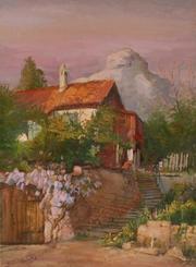 картина Анатолия Гопкало Вечер в Бахчисарае