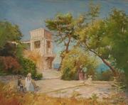 картина Анатолия Гопкало Симеиз