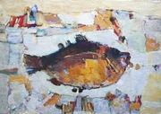 Продам картину Виктора Волкова Мистическая рыба Виш