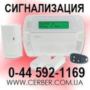 Охранная сигнализация,  установка сигнализации