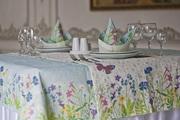 Скатерти и салфетки с дизайнерским рисунком,  лен,  декор