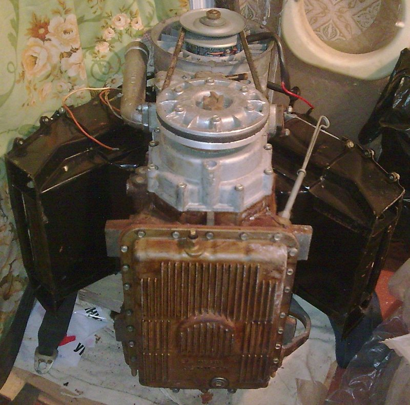 Двигатель мотор на запорожец заз