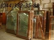 деревянные окна от производителя (евробрус, фурнитура ROTO)