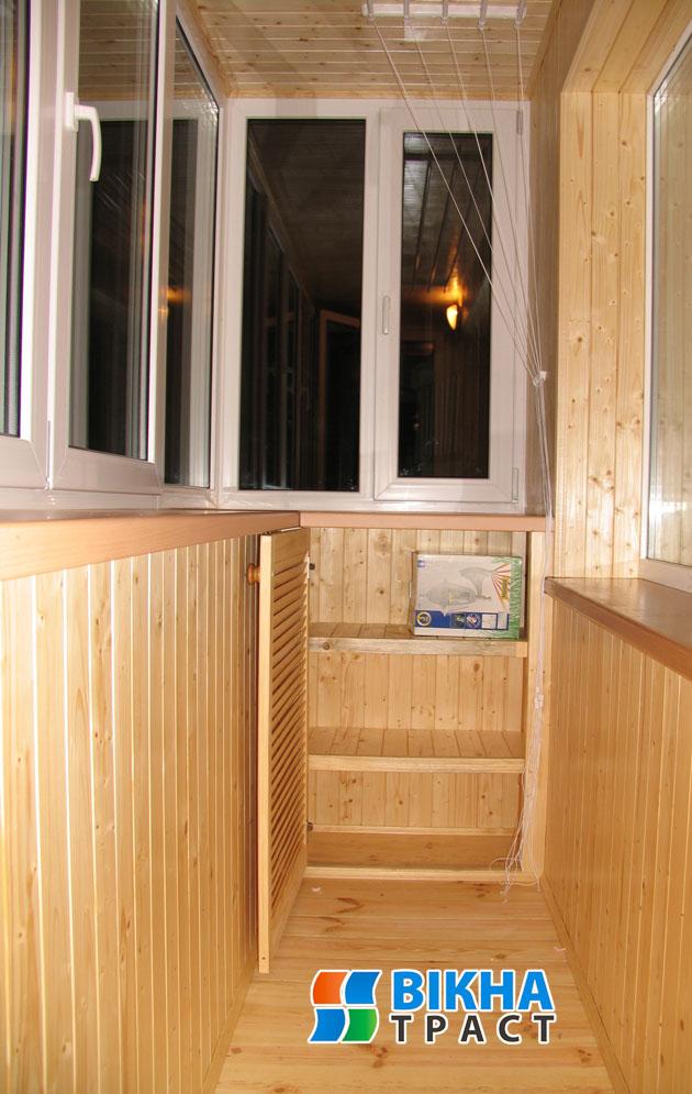 Шкафы и тумбы на балкон - фотогалерея окна-траст - оконная к.