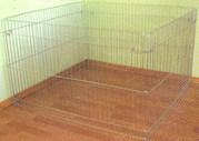 Вольер для щенков,  котят,  грызунов или мелких пород собак 100х100хh60