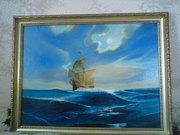Продам картины , Разговор  с морем