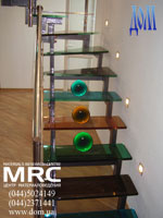 Стеклянные лестницы в дом от ДОМ тм на www.dom.ua