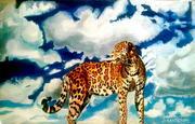 Великолепная картина. Современная живопись. Ягуар