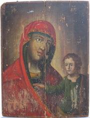 Реставрация икон,  художественных полотен