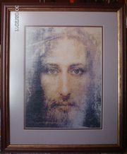 Продам вышитую картину Лик Спасителя Вышиваю портреты на заказ