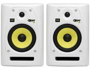 Krk rp 6 g2 SE студийные мониторы белого цвета цена