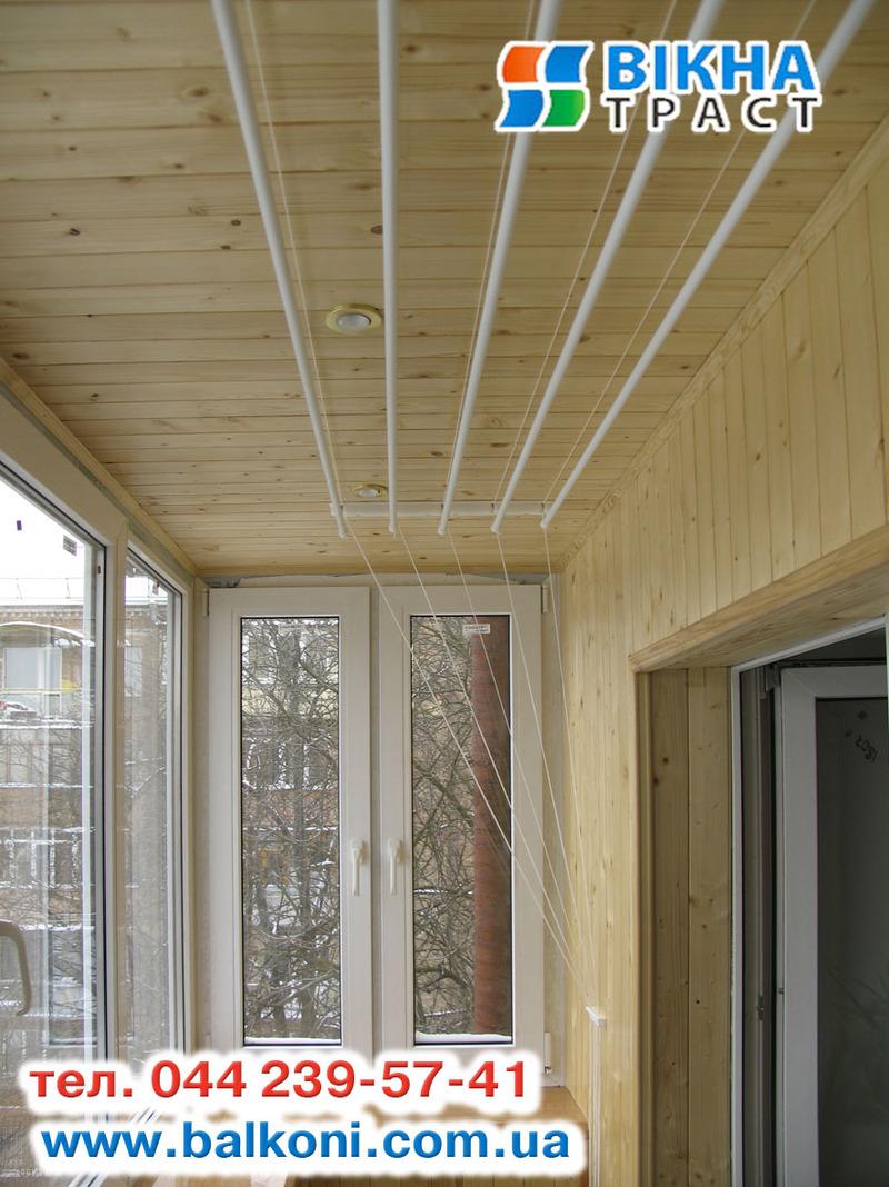 Фото: внутренние работы на балконе и лоджии. отделочные рабо.