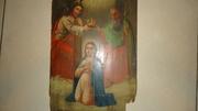 Венчание Богородицы икона