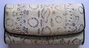Кошелек портмоне подарок кожа женский из кожи питона