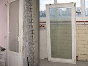 Деревянное евроокно и балконная дверь