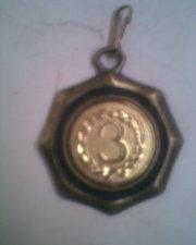 Медаль 3 место бронза