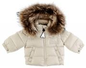 Очень тёплые куртки -пуховики от Moncler  для детей