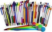 Ручки пластиковые и металлические с нанесением