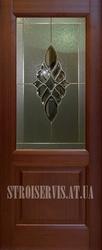 Шпонированные раздвижные межкомнатные двери Глазго (Woodok) в дом. МДФ