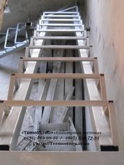 Металлические лестницы винтовые, прямые.Заборы, ограды.Киев.