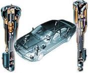 Продам пневмоподвески (стойки) Mersedes W220 в хорошем состоянии