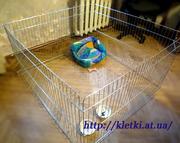 Вольер-загон для щенков,  котят или мелких пород собак 100х100хh60 см