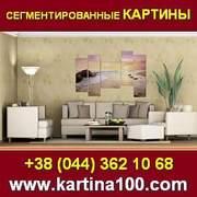 Сегментированные картины. Картины в Киеве и Украине.