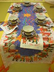 СКАТЕРТИ НОВОГОДНИЕ. Новогодние столовые комплекты.