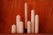 Свечи восковые и парафиновые
