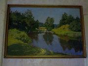 Картины известного художника Белокурова Константина Сергеевича.