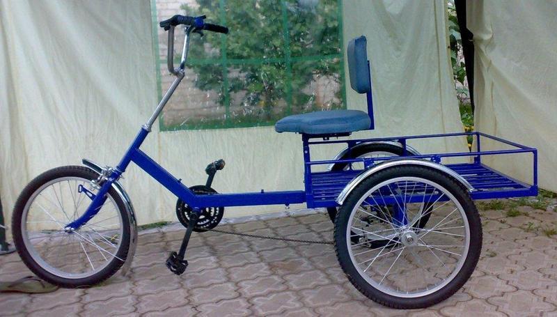 Грузовой велосипеда своими руками 846