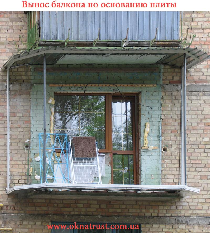 Как оформить открытый балкон в брежневке - teargas.trade мал.