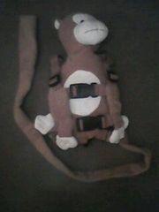 гламурный поводочек с мягкой игрушечкой на спинке!