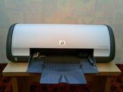 продам б/у Принтер струйный HP DeskJet D1460 + чернила