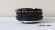 КОНВЕРТЕР 2*NА TELEPLUS MS4 под Nikon.НОВЫЙ !!!(ЯПОНИЯ)