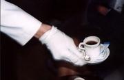 Перчатки для официантов,  форма,  спецодежда
