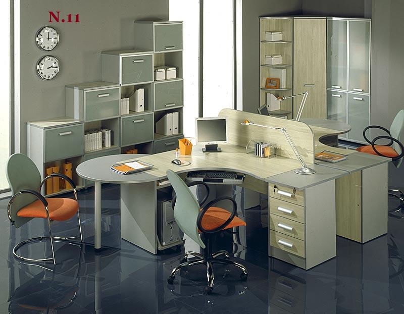 Фото: компьютерные столы угловые, прямоугольные, полукруглые.