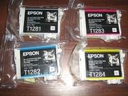 Набор Epson T128. Продам оригинальный комплект T1285,  недорого
