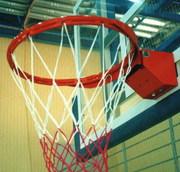 Кольца баскетбольные,  баскетбольное оборудование и инвентарь от произв