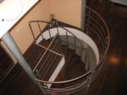 Перила,  поручни,  ограждения из н/ж  стали, лестницы.