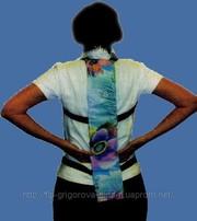 Боль в спине? Шунгитовая накладка спинная