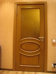 Межком. двери,  натур. дуб,  масив,  выполнены под заказ из итал. каталог
