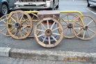 продам старинные колеса от телеги и кареты
