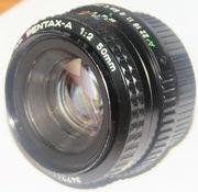 SMC Pentax-A 1:2 50mm