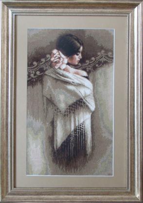 рукоделов вышивка, купить вышивку бисером иконы и вышивка рыбки.  Описание: Оригинал - Схема вышивки Богородица.