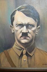 портрет  Фюрера  маслом