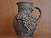 Экологическая глиняная посуда в старинном стиле